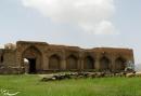 ورودی یکی از 999 کاروانسرای شاه عباس در روستای ورده ساوه