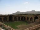فضای داخلی یکی از 999 کاروانسرای شاه عباس در روستای ورده ساوه